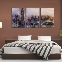 Load image into Gallery viewer, UK City London Metropolitan Britain Landmark Canvas Prints Wall Art Home Decor - Canvas Print Sale