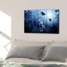 Load image into Gallery viewer, Dark Forest Wolf Predator Canvas Prints Home Decor Wall Art - Canvas Print Sale