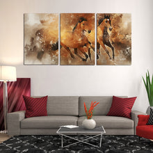Load image into Gallery viewer, Equine Horse Running Canvas Prints Wall Art Home Decor - Canvas Print Sale