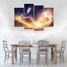 Load image into Gallery viewer, Rush Football Shoe Boot Sport Canvas Prints Wall Art Home Decor - Canvas Print Sale