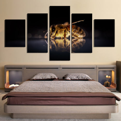 Honey Bee Canvas Prints Home Decor Wall Art