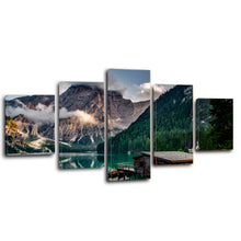Load image into Gallery viewer, Italy Pragser Wildsee Canvas Prints Wall Art Home Decor - Canvas Print Sale