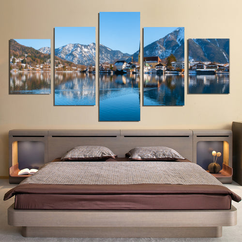 Lake Tegernsee Canvas Prints Wall Art Home Decor