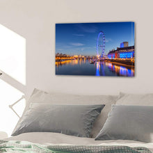 Load image into Gallery viewer, London Eye Ferris Wheel London England Landmark Canvas Prints Wall Art Home Decor - Canvas Print Sale