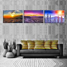 Load image into Gallery viewer, 3 Pieces Custom Canvas Prints With Your Own Photos Large Canvas Wall Art Personalised Canvas Prints - Canvas Print Sale