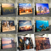 Load image into Gallery viewer, 9 Photo Collage Canvas Landscape - Canvas Print Sale