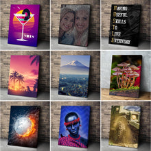 Load image into Gallery viewer, 4 Photo Collage Canvas Portrait - Canvas Print Sale