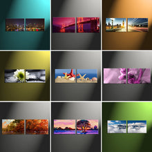 "Load image into Gallery viewer, 16"" x 48"" (40x120cm) 2 Piece Landscape Canvas - Canvas Print Sale"