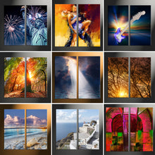 "Load image into Gallery viewer, 36"" x 48"" (90x120cm) 2 Piece Portrait Canvas - Canvas Print Sale"