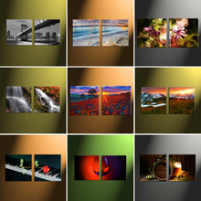 "Load image into Gallery viewer, 16"" x 32"" (40x80cm) 2 Piece Landscape Canvas - Canvas Print Sale"