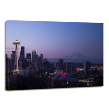 Load image into Gallery viewer, Seattle City Urban Cityscape Skyline Sunset Canvas Prints Wall Art Home Decor - Canvas Print Sale