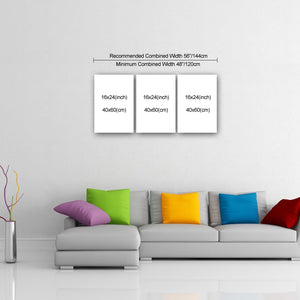 "3 Piece Canvas 24"" x 48"" (60x120cm) - Canvas Print Sale"