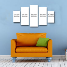 "Load image into Gallery viewer, 5 Piece Canvas 22"" x 40"" (55x100cm) - Canvas Print Sale"