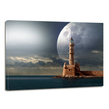 Load image into Gallery viewer, Science Astronomy Space Signal Lighthouse Canvas Prints Wall Art Home Decor - Canvas Print Sale