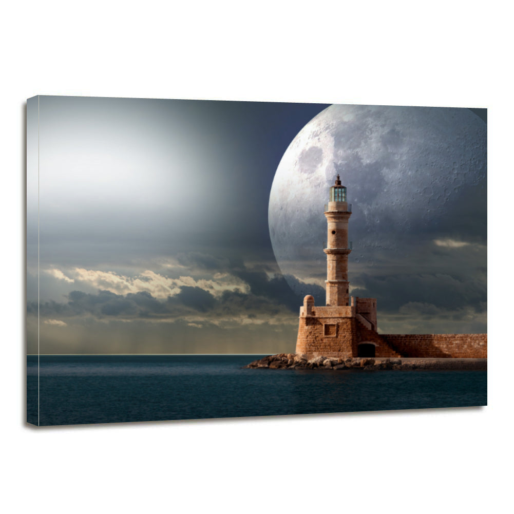 Science Astronomy Space Signal Lighthouse Canvas Prints Wall Art Home Decor - Canvas Print Sale