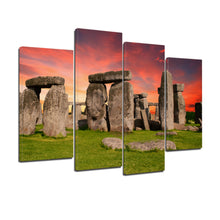 Load image into Gallery viewer, Stonehenge Monument Prehistoric Salisbury Britain Canvas Prints Wall Art - Canvas Print Sale