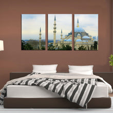 Load image into Gallery viewer, Istanbul Cami Islam Turkey Dome City Canvas Prints Wall Art Home Decor - Canvas Print Sale