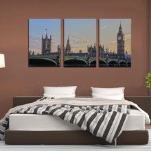 Load image into Gallery viewer, UK Parliament London England Ben Ben Westminster Canvas Prints Wall Art Home Decor - Canvas Print Sale