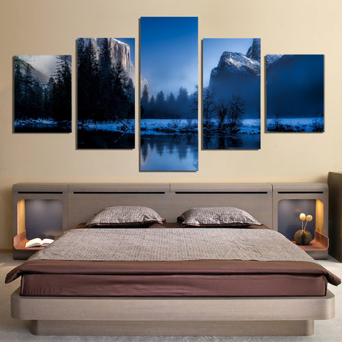 Yellowstone National Park Wyoming Canvas Prints  Wall Art