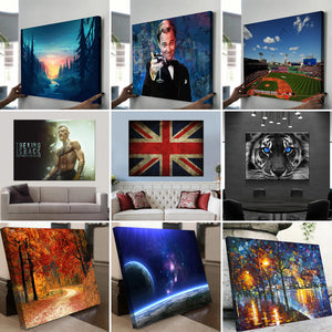 5 Photo Collage Canvas Landscape - Canvas Print Sale