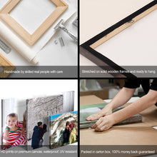 Load image into Gallery viewer, 4 Photos Collage Canvas Square - Canvas Print Sale