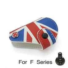 Load image into Gallery viewer, Mini Cooper R55 R56 R57 R60 R61 F54 F55 F56 F57 F60  Leather Key Case Cover