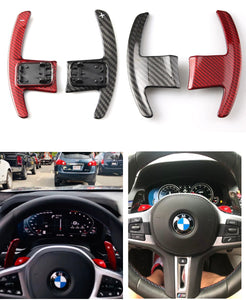 Carbon Fiber Steering Wheel Shift Paddle For BMW G-Series & Mini Cooper F-Series