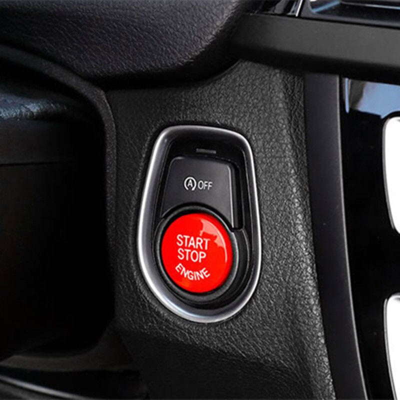 Red Start Stop Button BMW F Chassis