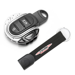 MINI Cooper JCW Brake Disc Style Key Fob with Keychain Ring Belt For F55 F56 F57 F60