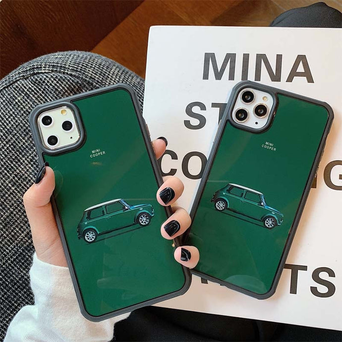 Fashion Mini Cooper Phone Cases for iPhone