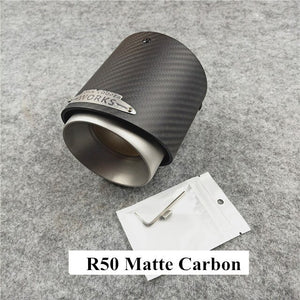 1 Pcs Top Quality Carbon Exhaust Tail Pipe For MINI Cooper S R55 R56 R57 R58 R59 R60 R61 F54 F56 F57 F60 JCW