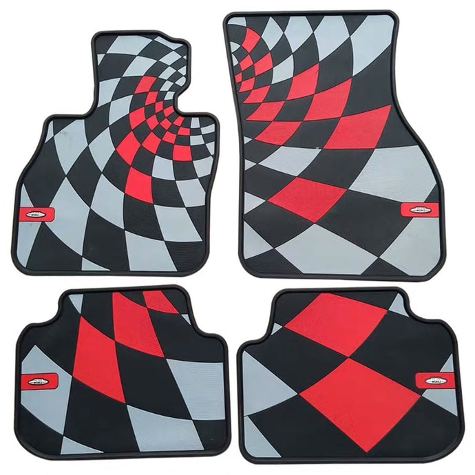 JCW Rubber Floor Mats For Mini Cooper F56