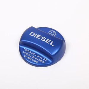 Diesel and Gasoline Fuel Tank Cover Cap Trim
