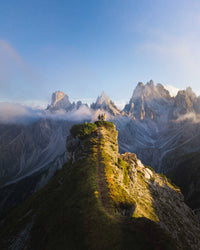 The Dolomites. Welcome to the adventure