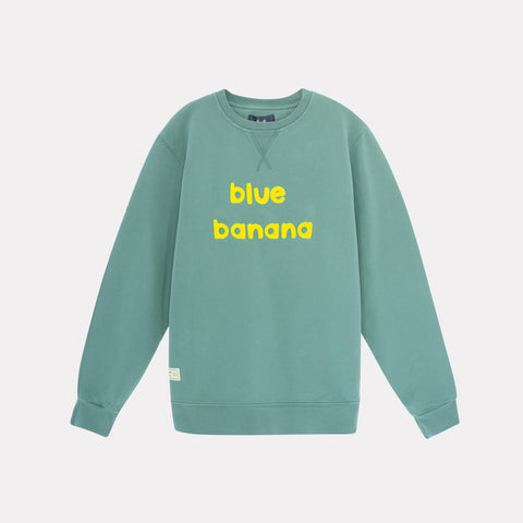 Banana Sweatshirt Green