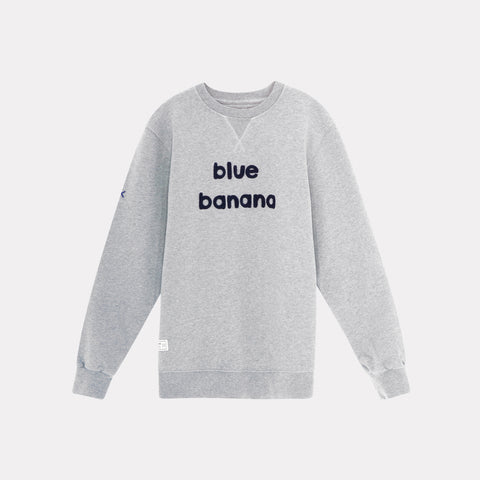 Banana Sweatshirt Grey