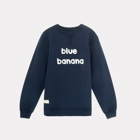 Banana Sweatshirt Navy