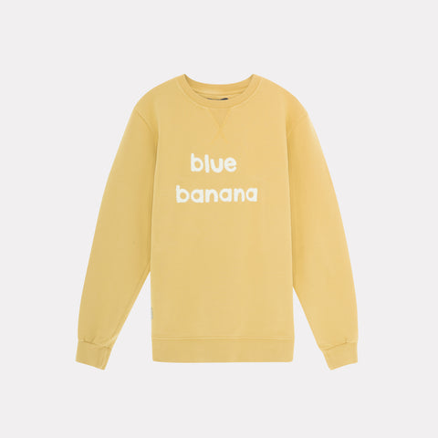 Banana Sweatshirt Yellow