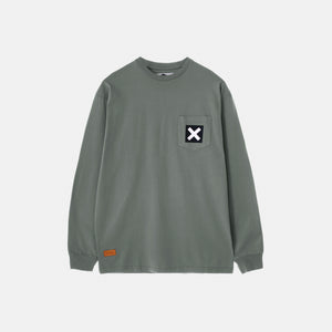 GREEN SQUARE LONG TEE