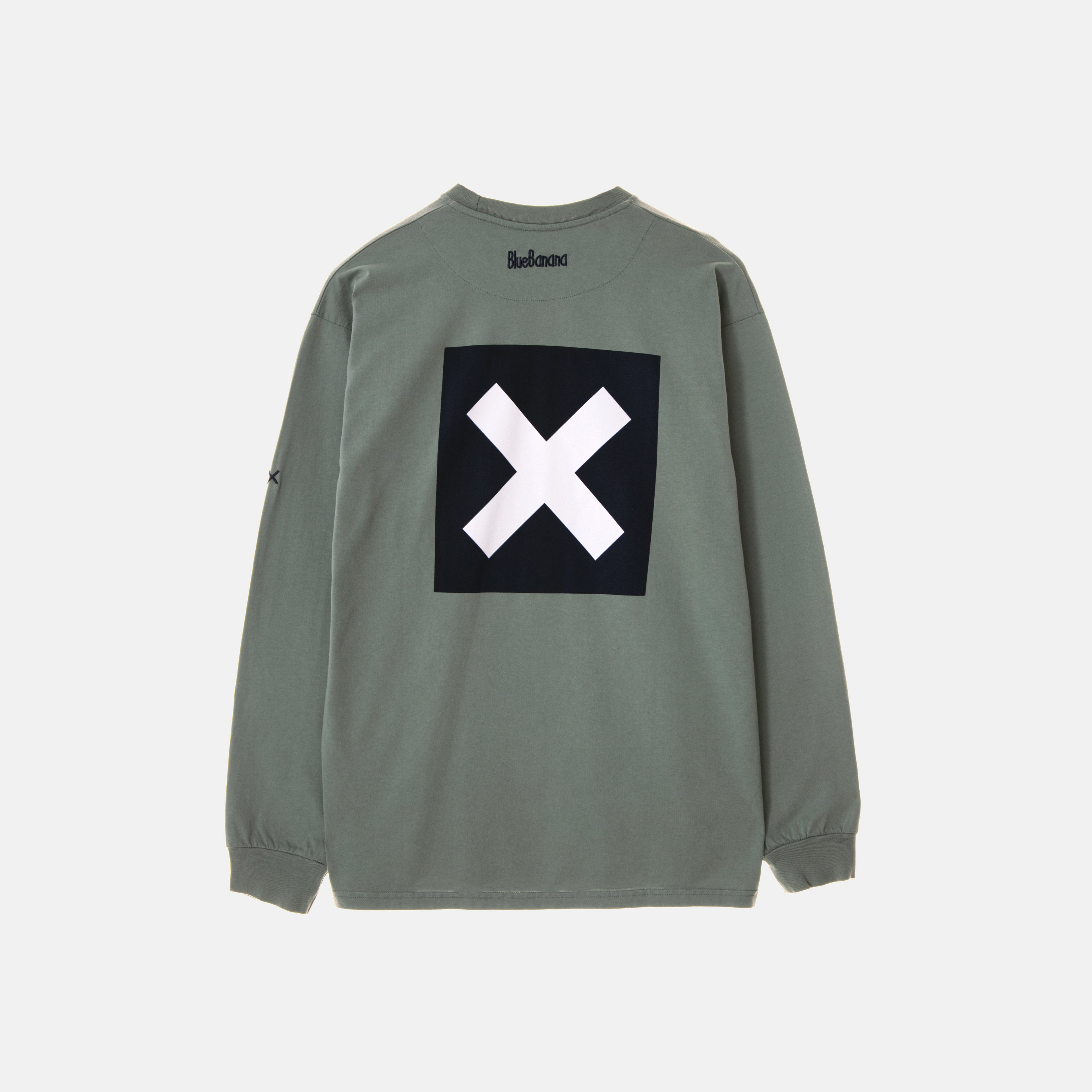GREEN SQUARE TEE