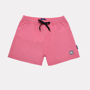 Pink Classic Swimming Trunks