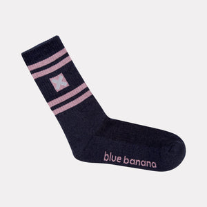 NAVY NATURE SOCKS