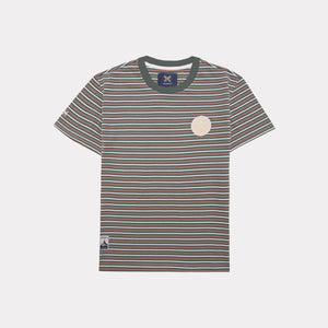 GREEN WILD STRIPED TEE