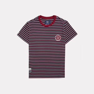 NAVY WILD STRIPED TEE