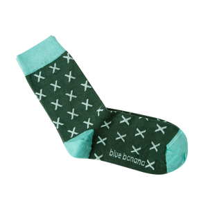Green Tropic Socks