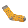 Yellow tropic socks