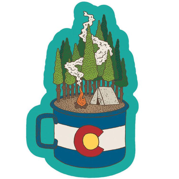 Camp Cup Colorado Sticker