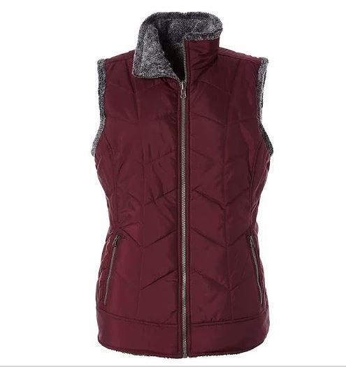 Cozy Inside-Out Vest