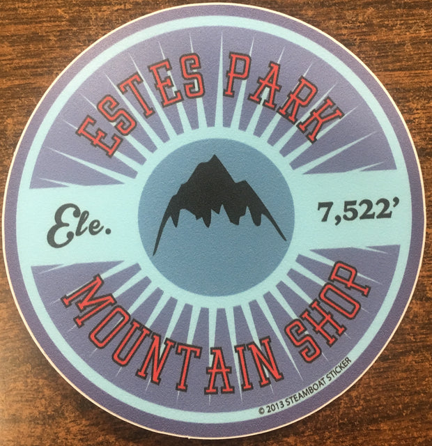 Estes Park Mountain Shop Sticker