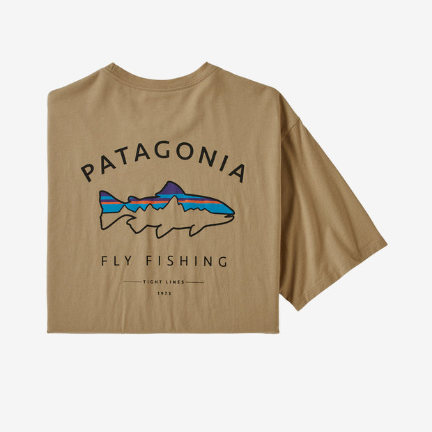 Framed Fitz Roy Trout Organic T-Shirt